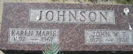 JOHNSON, KAREN MARIE - Saline County, Nebraska | KAREN MARIE JOHNSON - Nebraska Gravestone Photos