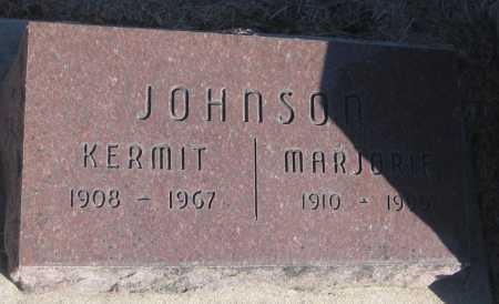 JOHNSON, KERMIT - Saline County, Nebraska | KERMIT JOHNSON - Nebraska Gravestone Photos