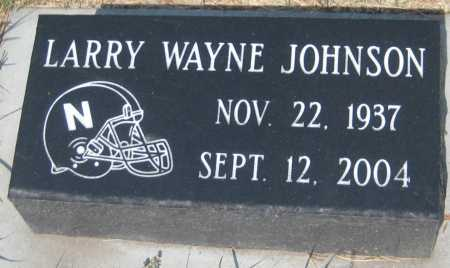 JOHNSON, LARRY WAYNE - Saline County, Nebraska | LARRY WAYNE JOHNSON - Nebraska Gravestone Photos