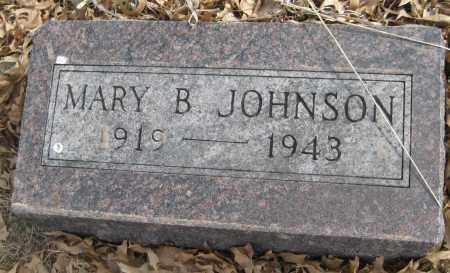 JOHNSON, MARY B. - Saline County, Nebraska | MARY B. JOHNSON - Nebraska Gravestone Photos