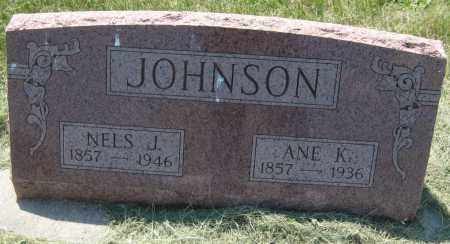 JOHNSON, NELS J - Saline County, Nebraska | NELS J JOHNSON - Nebraska Gravestone Photos