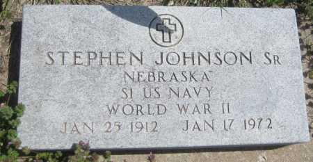 JOHNSON, STEPHEN SR. - Saline County, Nebraska | STEPHEN SR. JOHNSON - Nebraska Gravestone Photos