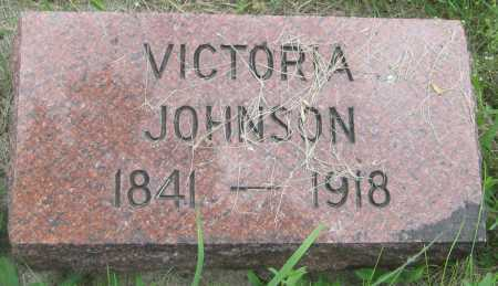 JOHNSON, VICTORIA - Saline County, Nebraska | VICTORIA JOHNSON - Nebraska Gravestone Photos