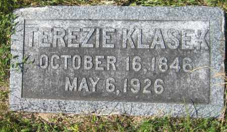 KACAL KLASEK, TEREZIE - Saline County, Nebraska | TEREZIE KACAL KLASEK - Nebraska Gravestone Photos