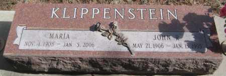 KLIPPENSTEIN, JOHN R. - Saline County, Nebraska | JOHN R. KLIPPENSTEIN - Nebraska Gravestone Photos