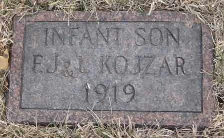 KOJZAR, INFANT SON - Saline County, Nebraska   INFANT SON KOJZAR - Nebraska Gravestone Photos