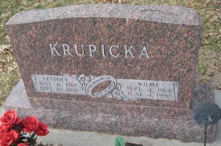 STYCH KRUPICKA, WILMA - Saline County, Nebraska | WILMA STYCH KRUPICKA - Nebraska Gravestone Photos