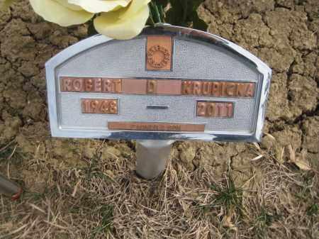 KRUPICKA, ROBERT DALE - Saline County, Nebraska   ROBERT DALE KRUPICKA - Nebraska Gravestone Photos