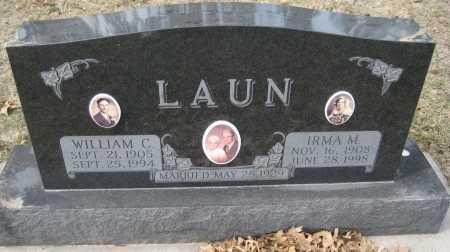 LAUN, WILLIAM C. - Saline County, Nebraska | WILLIAM C. LAUN - Nebraska Gravestone Photos
