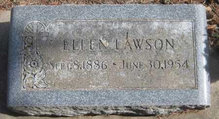 LAWSON, ELLEN - Saline County, Nebraska | ELLEN LAWSON - Nebraska Gravestone Photos