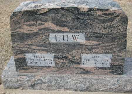 LOW, ELMER - Saline County, Nebraska | ELMER LOW - Nebraska Gravestone Photos