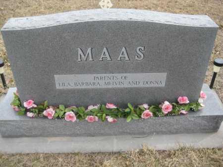 MAAS, REVA - Saline County, Nebraska | REVA MAAS - Nebraska Gravestone Photos