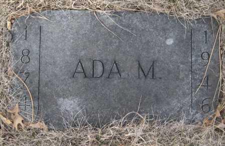 MACKLIN, ADA M. - Saline County, Nebraska | ADA M. MACKLIN - Nebraska Gravestone Photos