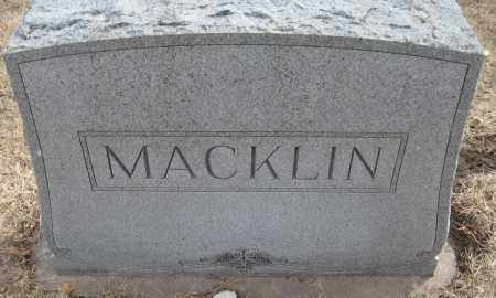 MACKLIN, FAMILY MONUMENT - Saline County, Nebraska | FAMILY MONUMENT MACKLIN - Nebraska Gravestone Photos