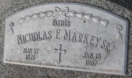 MARKEY, NICHOLAS F. SR. - Saline County, Nebraska | NICHOLAS F. SR. MARKEY - Nebraska Gravestone Photos