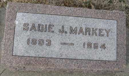 MARKEY, SADIE J. - Saline County, Nebraska | SADIE J. MARKEY - Nebraska Gravestone Photos