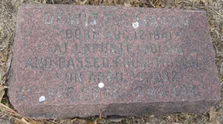 MARSH, DEWITT C. - Saline County, Nebraska | DEWITT C. MARSH - Nebraska Gravestone Photos