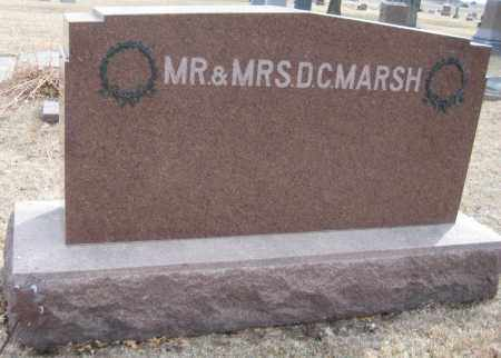 MARSH, FAMILY MONUMENT - Saline County, Nebraska | FAMILY MONUMENT MARSH - Nebraska Gravestone Photos