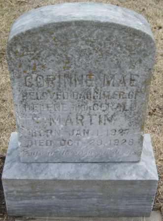 MARTIN, CORINNE MAE - Saline County, Nebraska | CORINNE MAE MARTIN - Nebraska Gravestone Photos