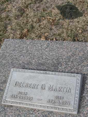 MARTIN, DELBERT O. - Saline County, Nebraska | DELBERT O. MARTIN - Nebraska Gravestone Photos