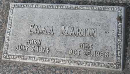 MARTIN, EMMA - Saline County, Nebraska | EMMA MARTIN - Nebraska Gravestone Photos