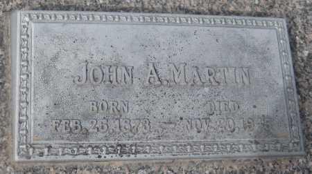 MARTIN, JOHN A. - Saline County, Nebraska   JOHN A. MARTIN - Nebraska Gravestone Photos