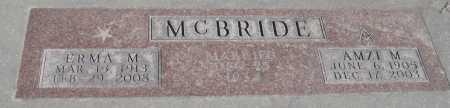 MCBRIDE, ERMA M. - Saline County, Nebraska | ERMA M. MCBRIDE - Nebraska Gravestone Photos