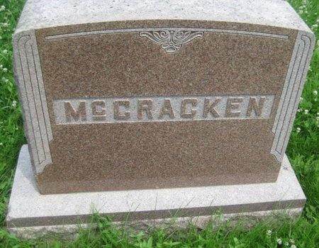 MCCRACKEN, FAMILY MONUMENT - Saline County, Nebraska | FAMILY MONUMENT MCCRACKEN - Nebraska Gravestone Photos