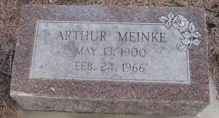 MEINKE, ARTHUR - Saline County, Nebraska | ARTHUR MEINKE - Nebraska Gravestone Photos