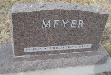 MEYER, MELVIN - Saline County, Nebraska | MELVIN MEYER - Nebraska Gravestone Photos