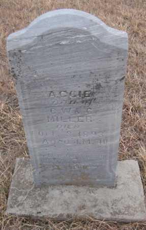 MILLER, AGGIE - Saline County, Nebraska | AGGIE MILLER - Nebraska Gravestone Photos