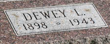 MILLER, DEWEY L. - Saline County, Nebraska | DEWEY L. MILLER - Nebraska Gravestone Photos