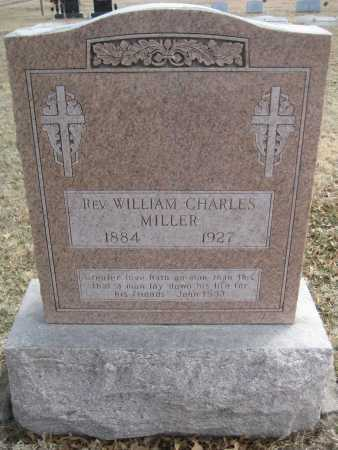 MILLER, WILLIAM CHARLES - Saline County, Nebraska | WILLIAM CHARLES MILLER - Nebraska Gravestone Photos