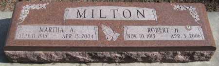 MILTON, MARTHA A. - Saline County, Nebraska | MARTHA A. MILTON - Nebraska Gravestone Photos