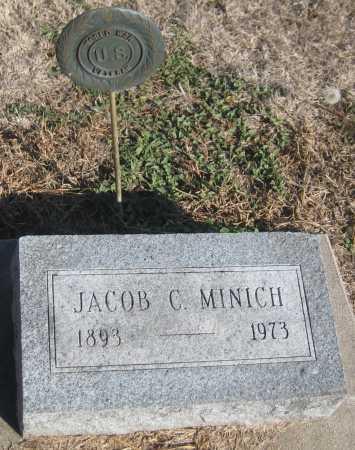 MINICH, JACOB C. - Saline County, Nebraska | JACOB C. MINICH - Nebraska Gravestone Photos