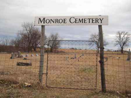 *MONROE CEMETERY, GATE - Saline County, Nebraska | GATE *MONROE CEMETERY - Nebraska Gravestone Photos