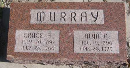MURRAY, ALVA N. - Saline County, Nebraska | ALVA N. MURRAY - Nebraska Gravestone Photos