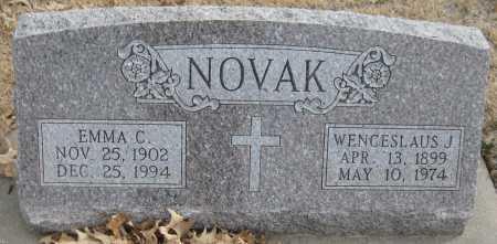 LORENZ NOVAK, EMMA C. - Saline County, Nebraska | EMMA C. LORENZ NOVAK - Nebraska Gravestone Photos