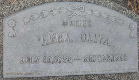 OLIVA, ANNA - Saline County, Nebraska   ANNA OLIVA - Nebraska Gravestone Photos
