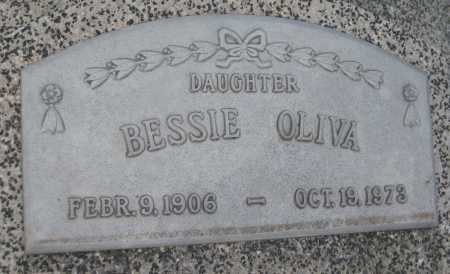 OLIVA, BESSIE - Saline County, Nebraska | BESSIE OLIVA - Nebraska Gravestone Photos