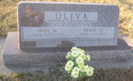OLIVA, MARY M. - Saline County, Nebraska   MARY M. OLIVA - Nebraska Gravestone Photos