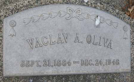 OLIVA, VACLAV A. - Saline County, Nebraska | VACLAV A. OLIVA - Nebraska Gravestone Photos