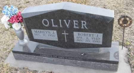 OLIVER, ROBERT J. - Saline County, Nebraska | ROBERT J. OLIVER - Nebraska Gravestone Photos