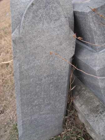 REXFORD OLMSTEAD, HANNAH M. - Saline County, Nebraska | HANNAH M. REXFORD OLMSTEAD - Nebraska Gravestone Photos