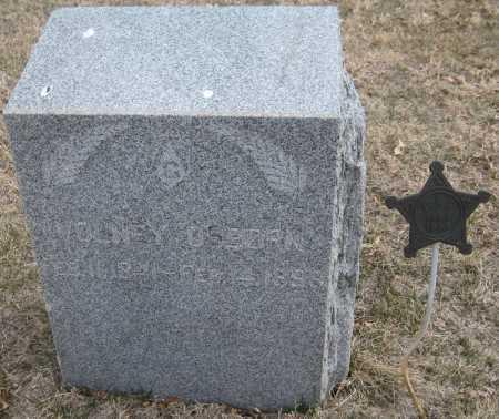 OSBORN, VOLNEY - Saline County, Nebraska | VOLNEY OSBORN - Nebraska Gravestone Photos