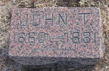 PALMER, JOHN T. - Saline County, Nebraska | JOHN T. PALMER - Nebraska Gravestone Photos