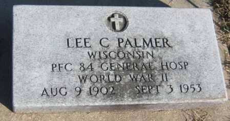 PALMER, LEE C. - Saline County, Nebraska | LEE C. PALMER - Nebraska Gravestone Photos