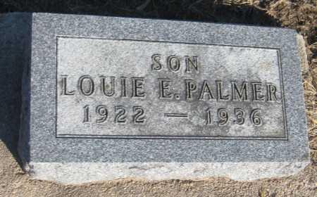 PALMER, LOUIE E. - Saline County, Nebraska   LOUIE E. PALMER - Nebraska Gravestone Photos