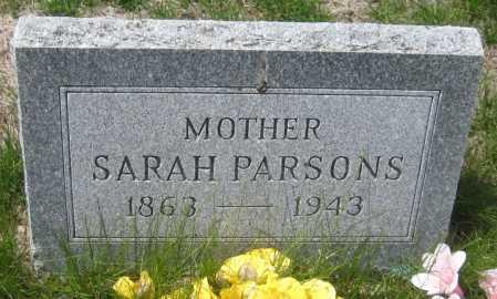 JOHNSON, SARAH - Saline County, Nebraska | SARAH JOHNSON - Nebraska Gravestone Photos