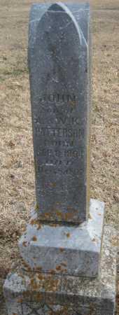 PATTERSON, JOHN - Saline County, Nebraska   JOHN PATTERSON - Nebraska Gravestone Photos